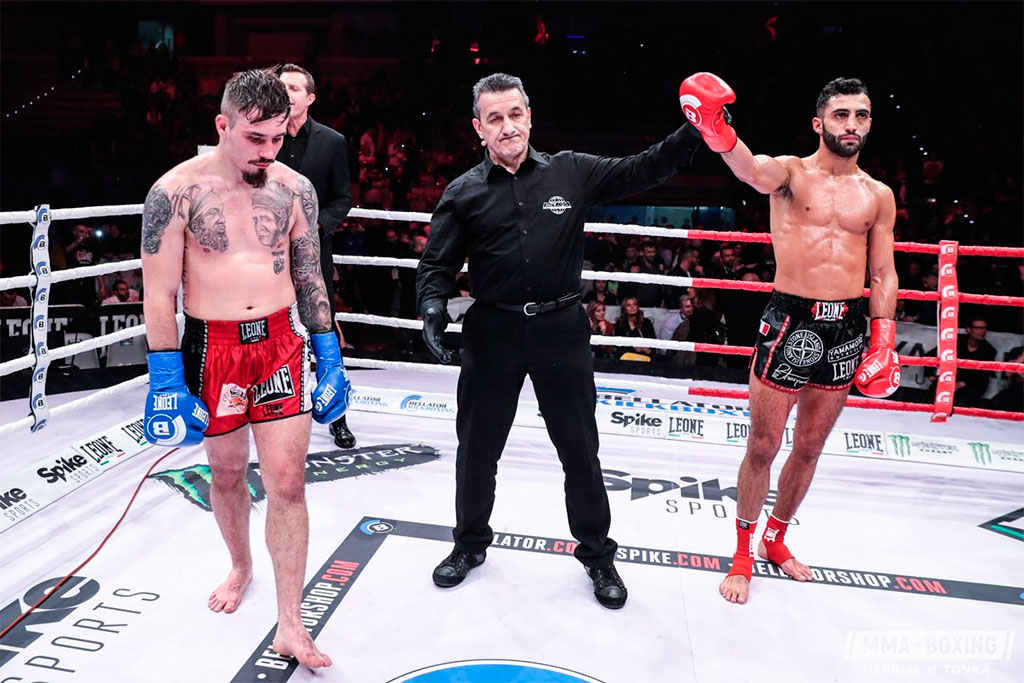 Результаты Bellator Kickboxing 5